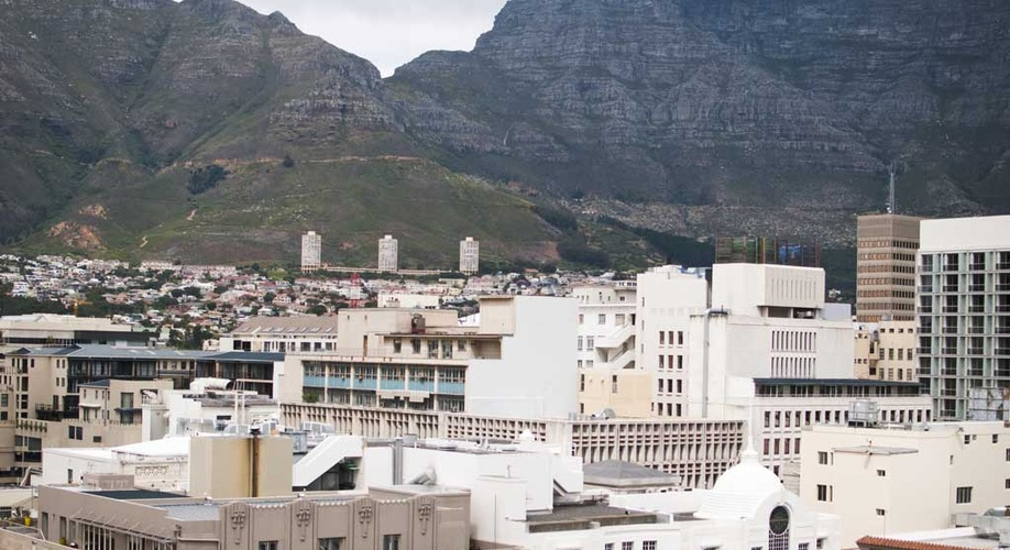 Cape Town Apartment Accommodation View